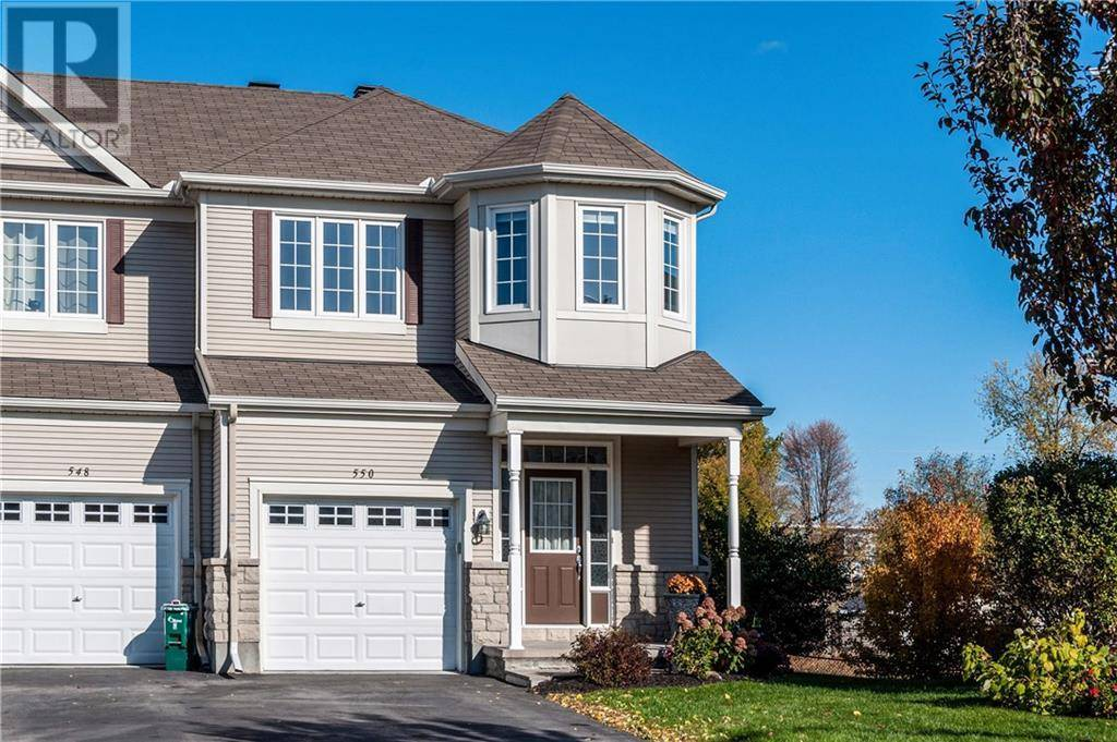 Townhouse for sale at 550 Pepperville Cres Ottawa Ontario - MLS: 1172699