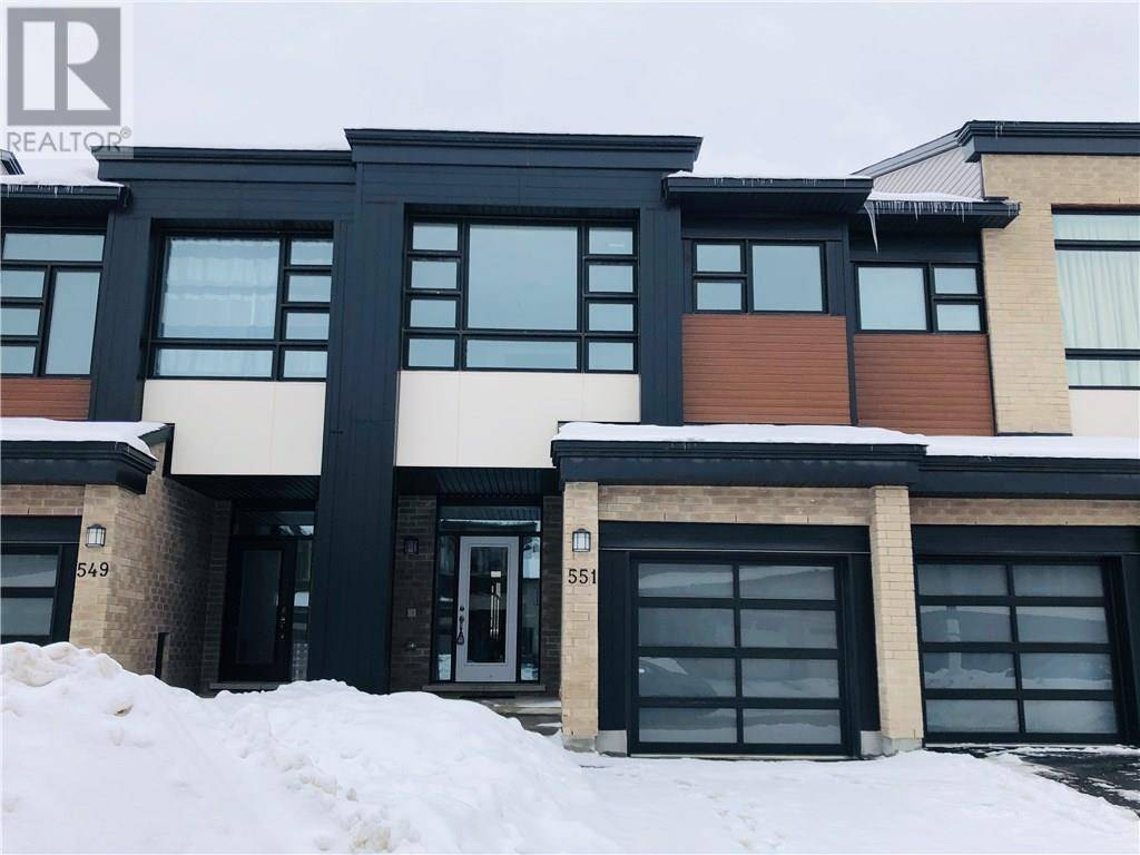Townhouse for rent at 551 Triangle St Ottawa Ontario - MLS: 1181625