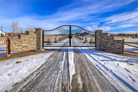 House for sale at 262024 Hwy 552 Hy West Unit 552 Rural Foothills County Alberta - MLS: C4233347