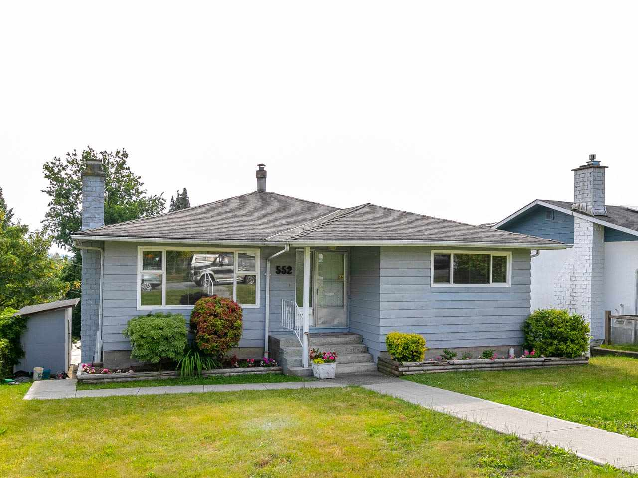 Sold: 552 Garfield Street, New Westminster, BC