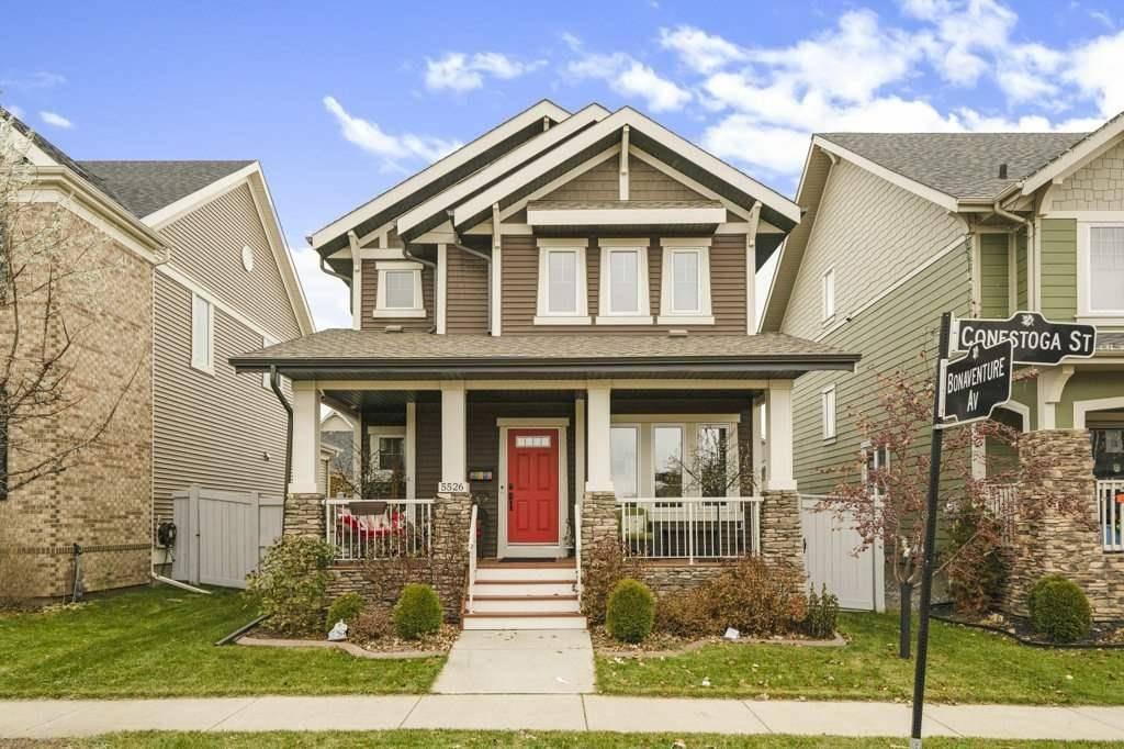 House for sale at 5526 Conestoga St Nw Edmonton Alberta - MLS: E4195179