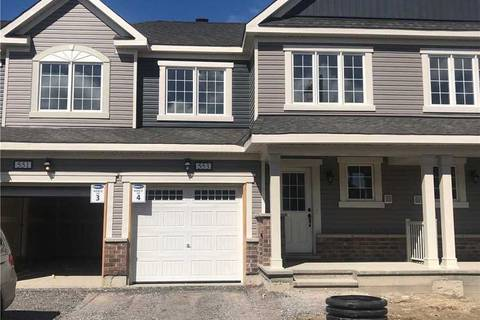 Townhouse for rent at 553 Chimney Corner Terr Ottawa Ontario - MLS: X4411305
