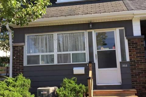 Townhouse for rent at 553 Strathmore Blvd Toronto Ontario - MLS: E4545360