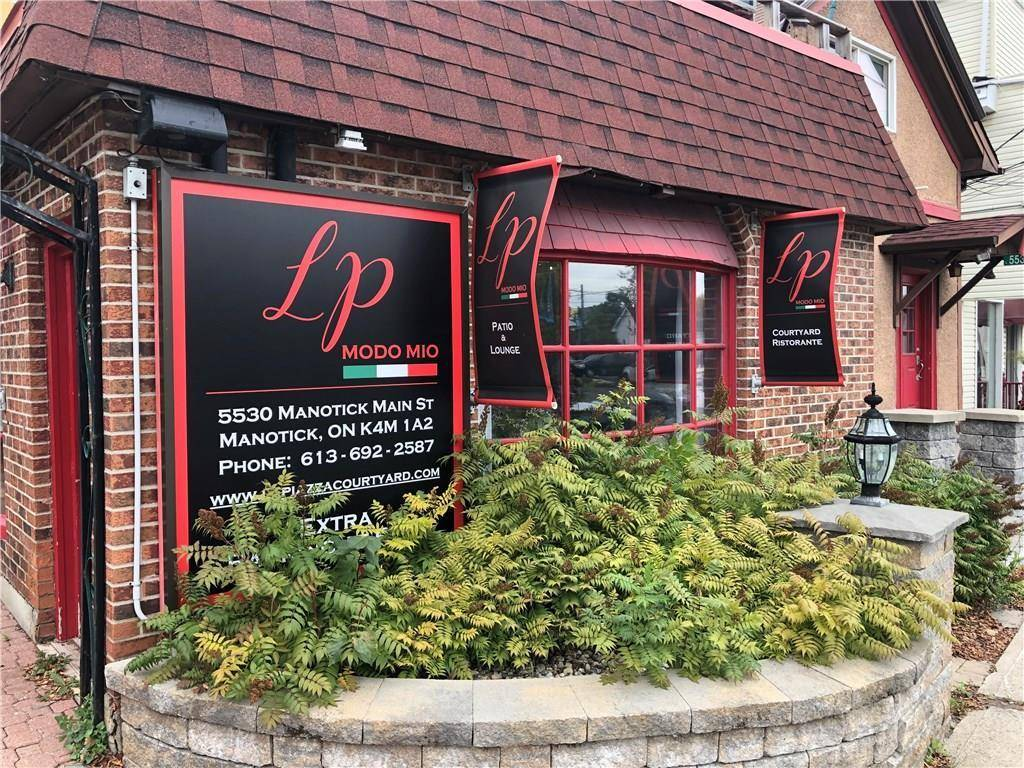 Commercial property for sale at 5530 Manotick Main St Manotick Ontario - MLS: 1172287