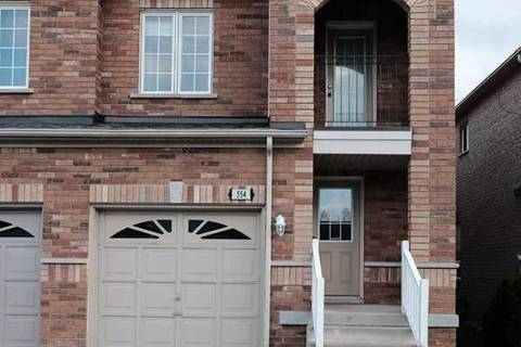 Townhouse for rent at 554 Rossellini Dr Mississauga Ontario - MLS: W4649968