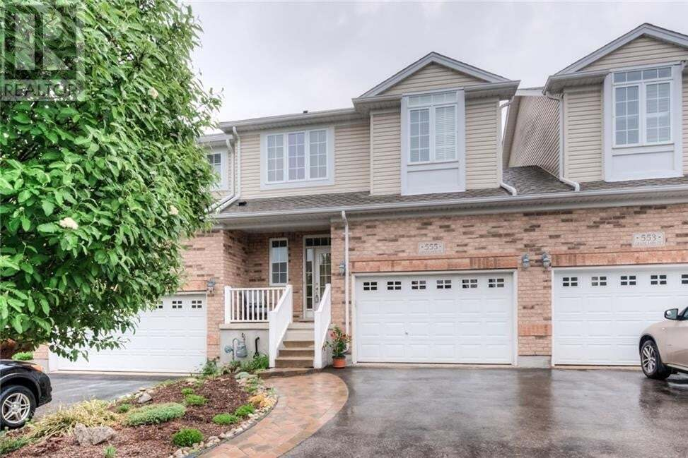 Townhouse for sale at 555 Grasslands Cres Waterloo Ontario - MLS: 30809021