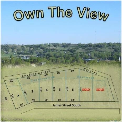 Residential property for sale at 555 James St S Unit LOT 3 Lumsden Saskatchewan - MLS: SK797288