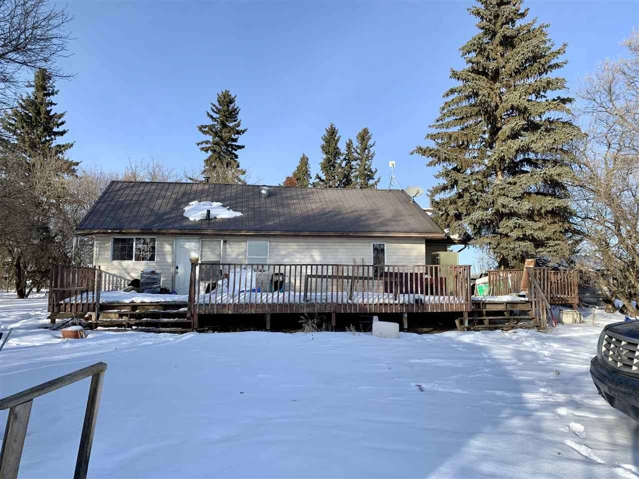 House for sale at 555022 Rge Rd Rural Two Hills County Alberta - MLS: E4187202