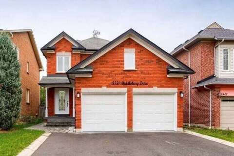 House for sale at 5551 Middlebury Dr Mississauga Ontario - MLS: W4963933