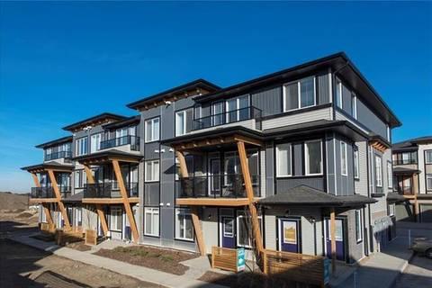 Townhouse for sale at 556 Savanna Blvd Northeast Calgary Alberta - MLS: C4294892