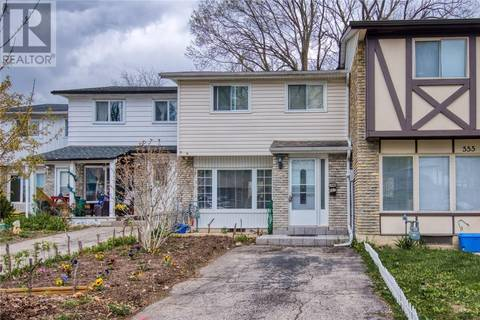 Townhouse for sale at 557 Parkview Cres Cambridge Ontario - MLS: 30735321