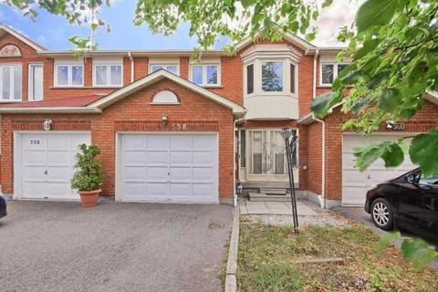 Townhouse for sale at 558 Galaxy Ct Mississauga Ontario - MLS: W4580681