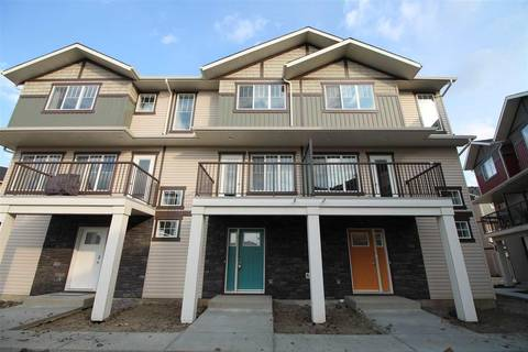 Townhouse for sale at 165 Cy Becker Blvd Nw Unit 56 Edmonton Alberta - MLS: E4146987