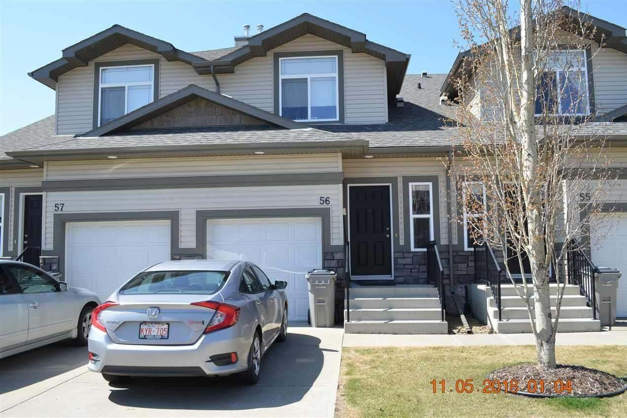 Townhouse for sale at 9511 102 Av NW Unit 56 Morinville Alberta - MLS: E4164561