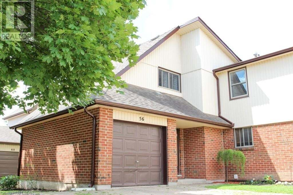 Townhouse for sale at 971 Adelaide St South Unit 56 London Ontario - MLS: 279881