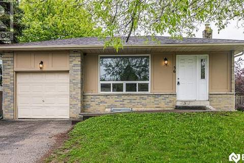 House for sale at 56 Bernick Dr Barrie Ontario - MLS: 30739061