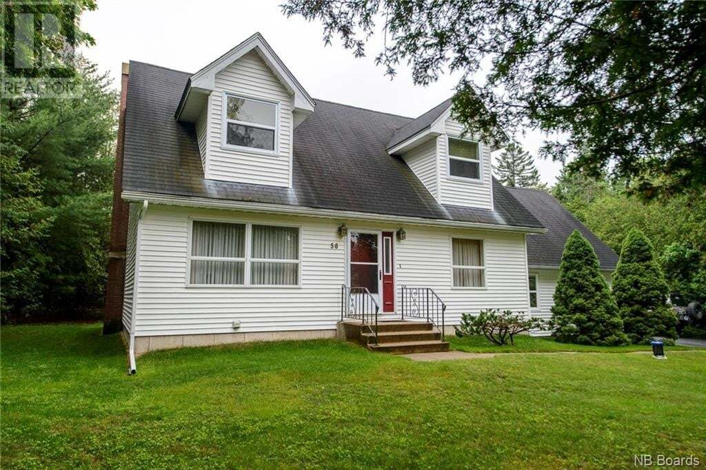 House for sale at 56 Cedar Ridge Blvd Quispamsis New Brunswick - MLS: NB046372