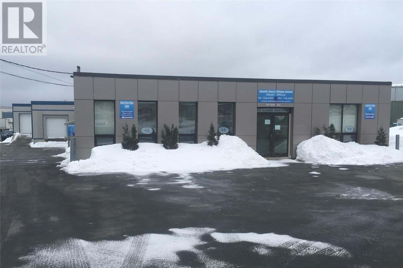 Commercial property for sale at 56 Clyde Ave Mount Pearl Newfoundland - MLS: 1214708