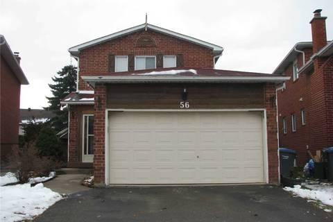 House for sale at 56 Ecclestone Dr Brampton Ontario - MLS: W4638791