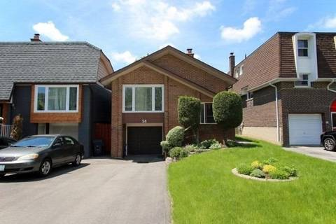 Home for sale at 56 Harnworth Dr Toronto Ontario - MLS: C4489480