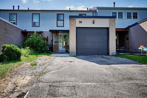 Townhouse for sale at 56 Mcclure Cres Toronto Ontario - MLS: E4904357