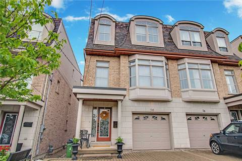 Townhouse for sale at 56 Monclova Rd Toronto Ontario - MLS: W4488327