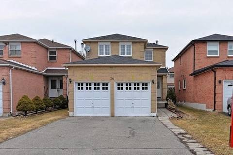 House for sale at 56 Redpoll Ct Brampton Ontario - MLS: W4390775