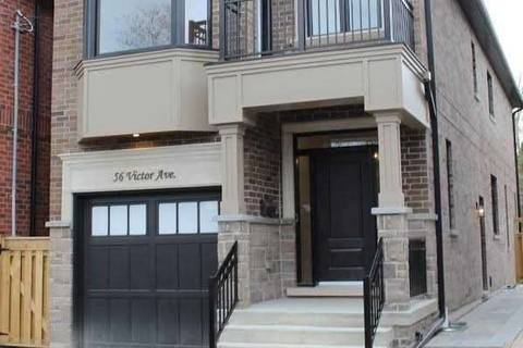 House for sale at 56 Victor Ave Toronto Ontario - MLS: W4497529