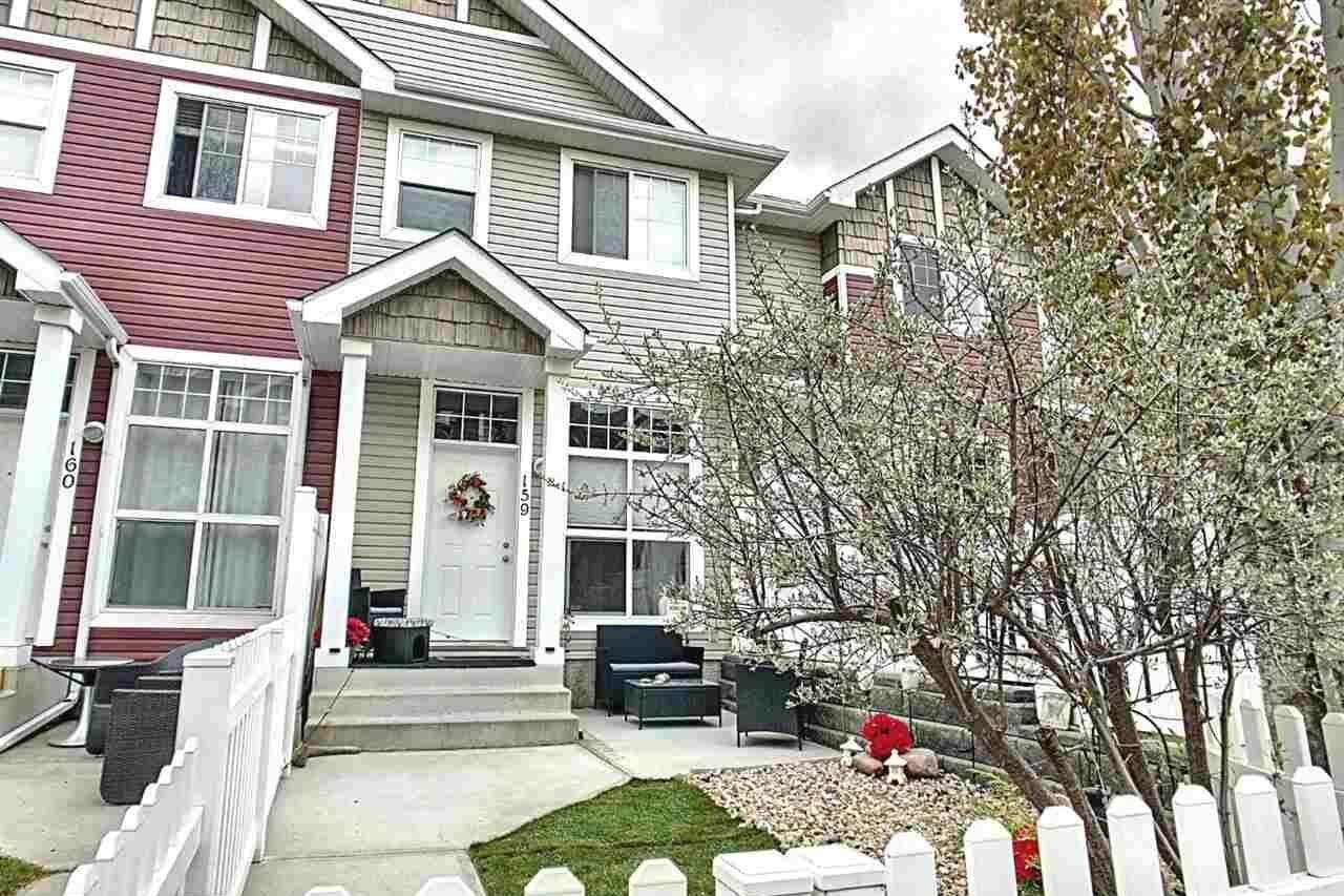Townhouse for sale at 5604 199 St NW Edmonton Alberta - MLS: E4198283