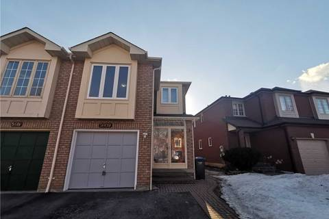 Townhouse for rent at 5609 Cosmic Cres Mississauga Ontario - MLS: W4387568