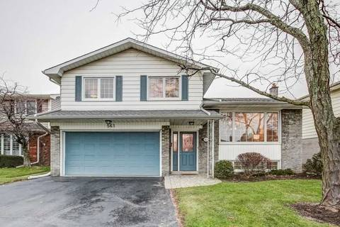 House for sale at 561 Lani Cres Burlington Ontario - MLS: W4670568