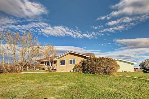 House for sale at 56163 658 Ave East Rural Foothills County Alberta - MLS: C4273579