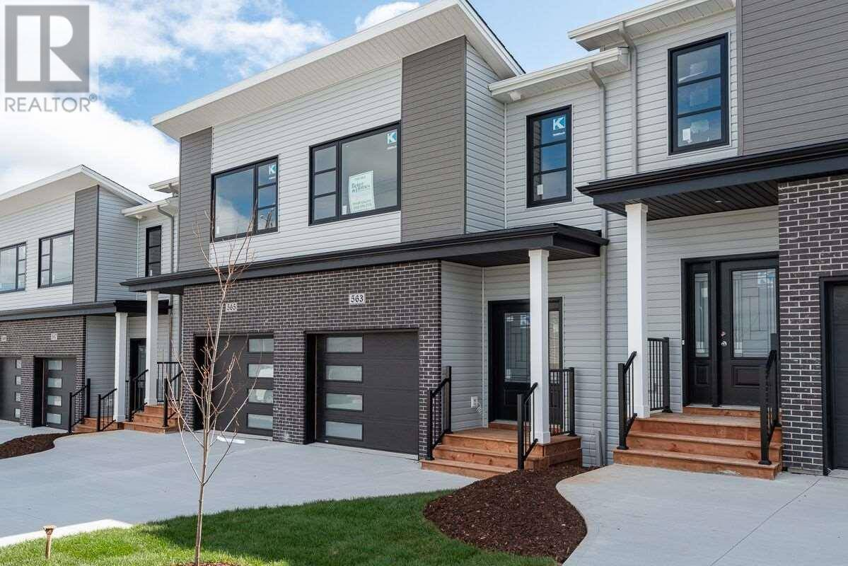 Townhouse for sale at 563 Cowie Hill Rd Halifax Nova Scotia - MLS: 201915458