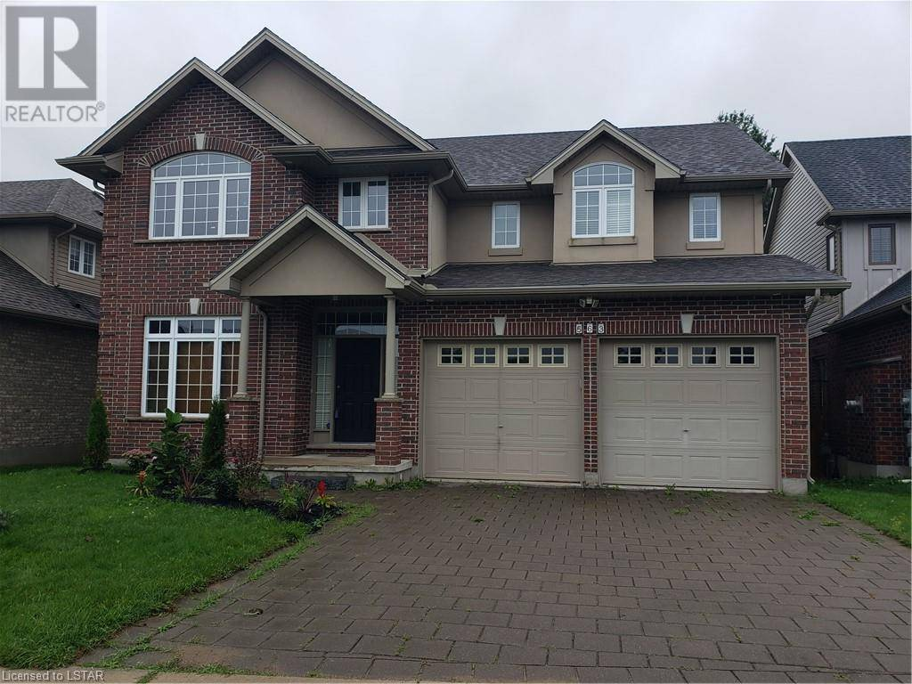 House for sale at 563 Firefly Dr London Ontario - MLS: 221246