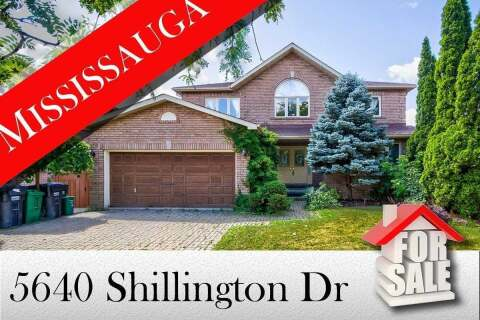 House for sale at 5640 Shillington Dr Mississauga Ontario - MLS: W4839812