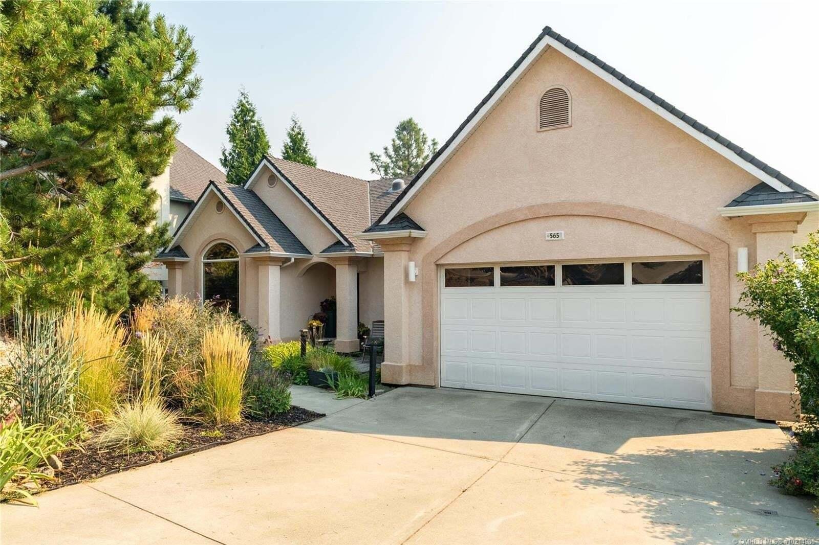House for sale at 565 San Cabrio Ct Kelowna British Columbia - MLS: 10214986