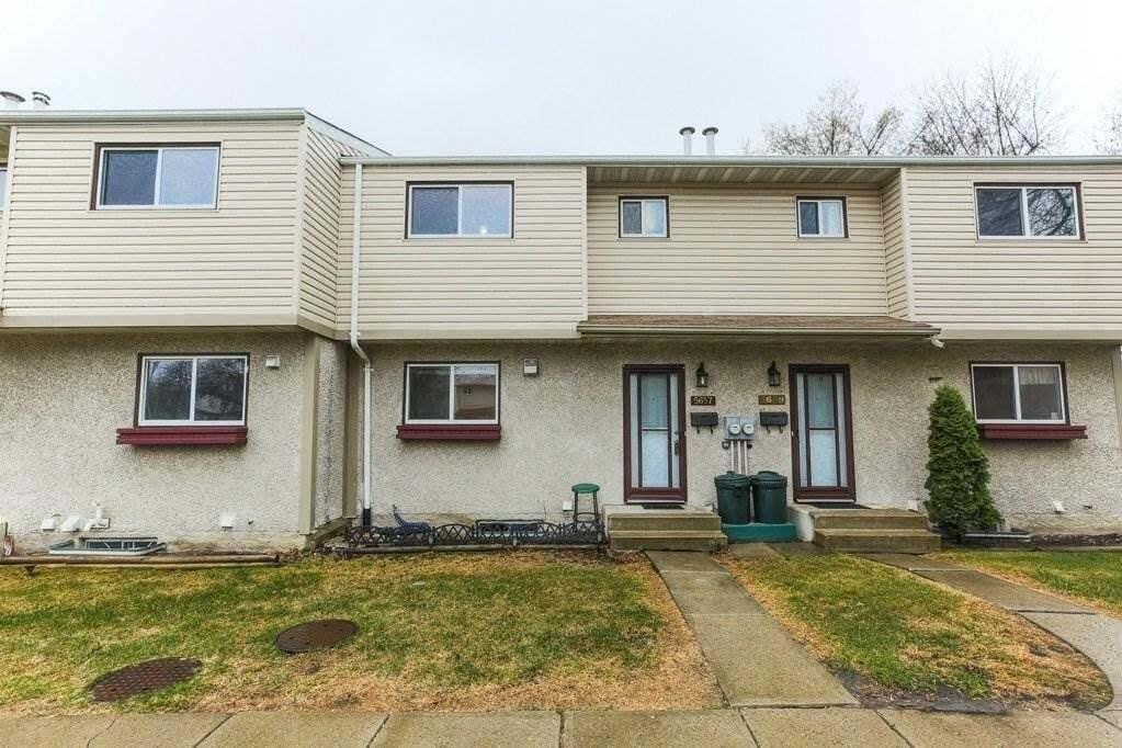 Townhouse for sale at 5657 137 Av NW Edmonton Alberta - MLS: E4196037