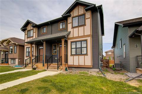 Townhouse for sale at 567 Blackwolf Blvd N Lethbridge Alberta - MLS: LD0168159