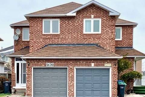 Townhouse for sale at 5670 Cortina Cres Mississauga Ontario - MLS: W4640641