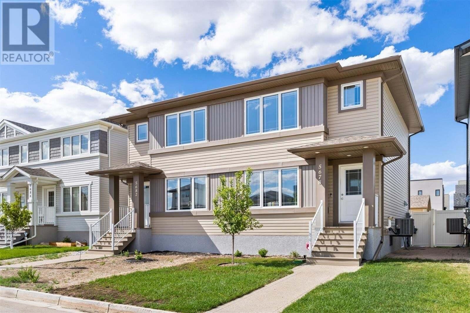 House for sale at 5678 Glide Cres Regina Saskatchewan - MLS: SK811036