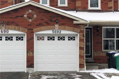 Townhouse for rent at 5692 Shillington Dr Mississauga Ontario - MLS: W4690540