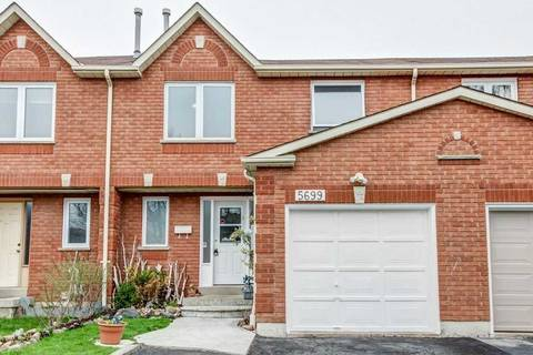 Townhouse for sale at 5699 Talaton Tr Mississauga Ontario - MLS: W4432730