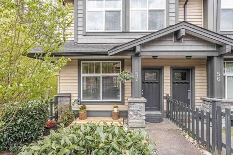 Townhouse for sale at 13819 232 St Unit 57 Maple Ridge British Columbia - MLS: R2452048