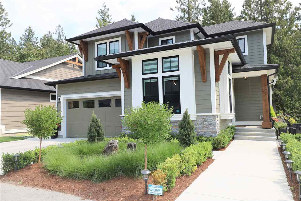 For Sale: 57 - 1885 Columbia Valley Road, Cultus Lake, BC | 2 Bed, 2 Bath House for $699900.