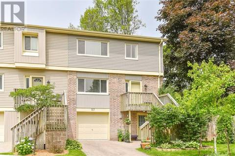 Townhouse for sale at 30 Green Valley Dr Unit 57 Kitchener Ontario - MLS: 30749994