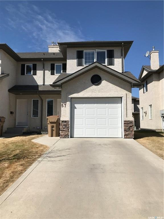 For Sale: 57 - 3101 Tregarva Drive East, Regina, SK | 3 Bed, 2 Bath Townhouse for $289,900. See 17 photos!