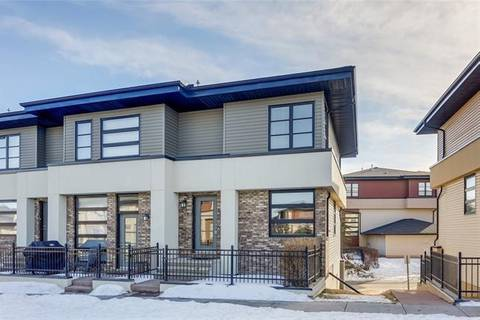 Townhouse for sale at 57 Aspen Hills Green Southwest Calgary Alberta - MLS: C4290573
