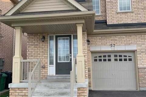 Townhouse for rent at 57 Banbridge Cres Brampton Ontario - MLS: W4864815