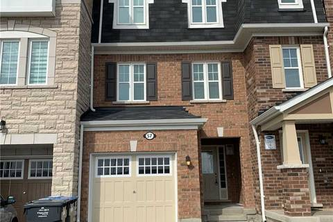 Townhouse for rent at 57 Baycliffe Cres Brampton Ontario - MLS: W4716068