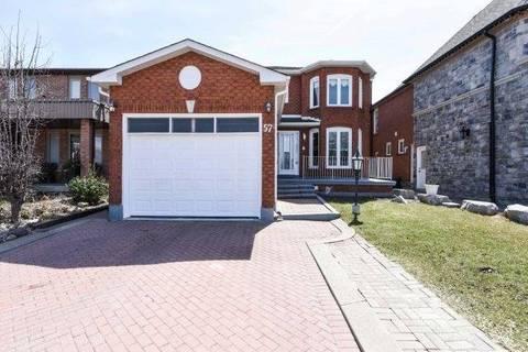 House for sale at 57 Bellona St Vaughan Ontario - MLS: N4421934